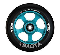 Lucky Scooter Wheel 110Mm Atom Teal/Black Single Wheel With