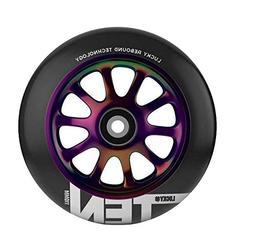 Lucky Scooter Wheel 120Mm Tens Neo Chrome/Black Single Wheel