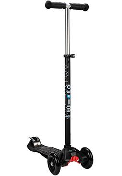 Maxi Micro Scooter - Black with T-bar