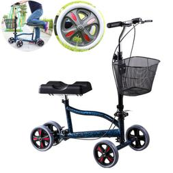 Mobility Knee Walker Scooter Steerable Foldable Medical Aid