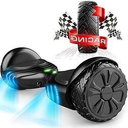 TOMOLOO Music-Rhythmed Hover Board for Kids and Adult Two-Wh