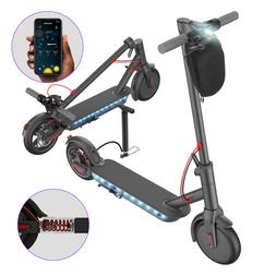 new electric scooter adult with side light