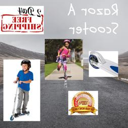 Razor A Scooter Original Kick Foldable For Kids Teens Adults