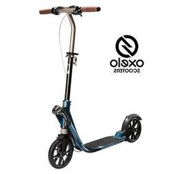 ORIGINAL OXELO TOWN 9 EF V2 ADULT SCOOTER, PETROL BLUE COLOR