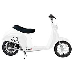 Razor Pocket Mod Miniature Electric Scooter, White