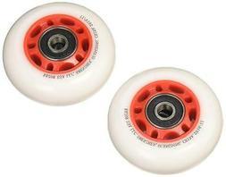 Razor PowerWing FlashRider 360 Replacement Rear Wheels, Red