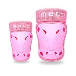 JBM Children / Kids Protective Gear Knee and Elbow Pads Supp