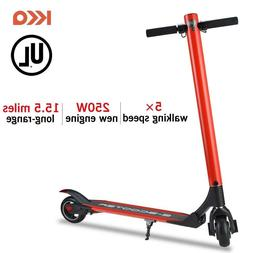 Red Electric Scooter, Li-ion Battery 24V/4.4AH Electric Kick