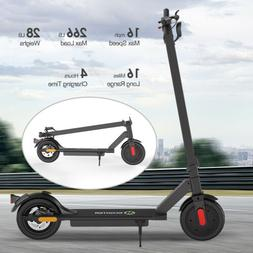 MEGAWHEELS S10BK FOLDING KICK ELECTRIC SCOOTER ALUMINUM URBA