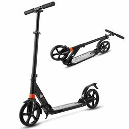 WeSkate Scooter for Adults/Teens Big Wheels Fold Durable Sco