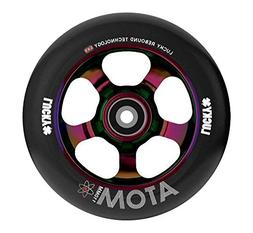 Lucky Scooter Wheel 110Mm Atom Neo Chrome/Black Single Wheel