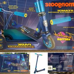Mongoose Stance Throwback Freestyle Scooter - Blue | New | S