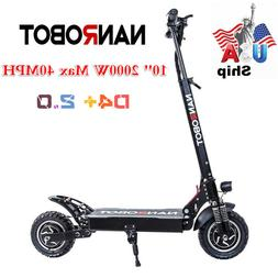 US Ship NANROBOT Electric Scooter Adult D4+ 2.0 Specially Up